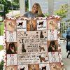 Afghan Hound Dog 2 Quilt Blanket I1d1