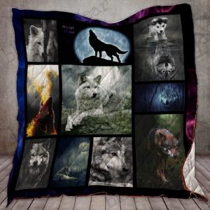 Alone Wolf Quilt S353