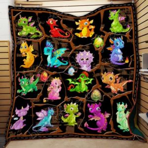 Baby Dragons Quilt Th614