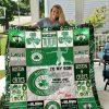 Boston Celtics – To My Son – Love Dad Quilt