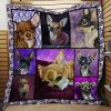 Chihuahua Quilt Blanket