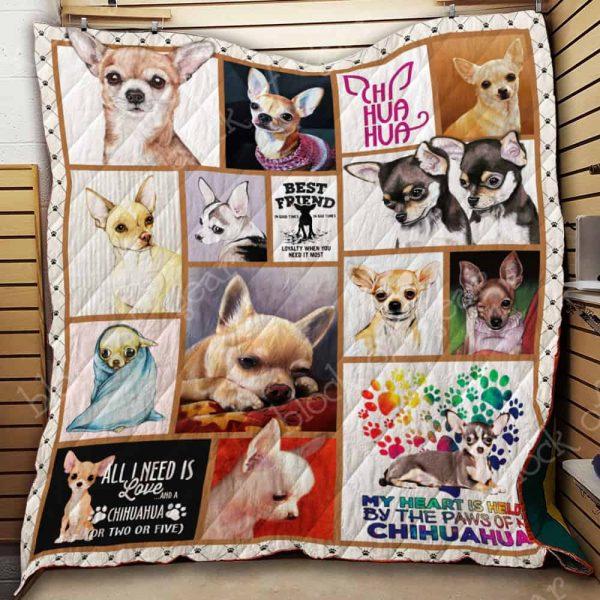 Chihuahua Quilt Th739