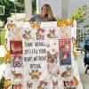 Corgi Dog 2 Quilt Blanket I1d1