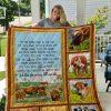 Cow- Poem Quilt Blanket 01
