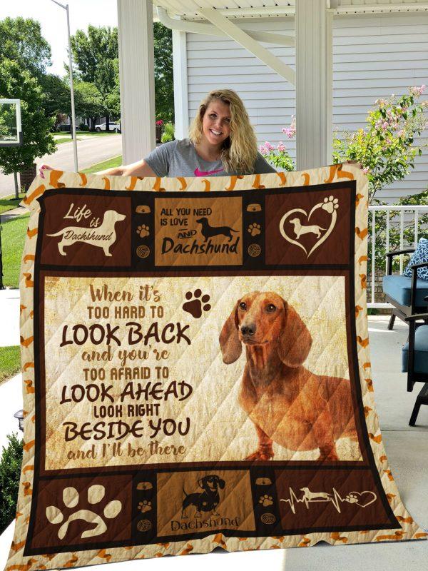 Dog-blanket Quilt-dachshund Edition 09142019