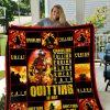 Firefighter 2 Quilt Blanket I1d1