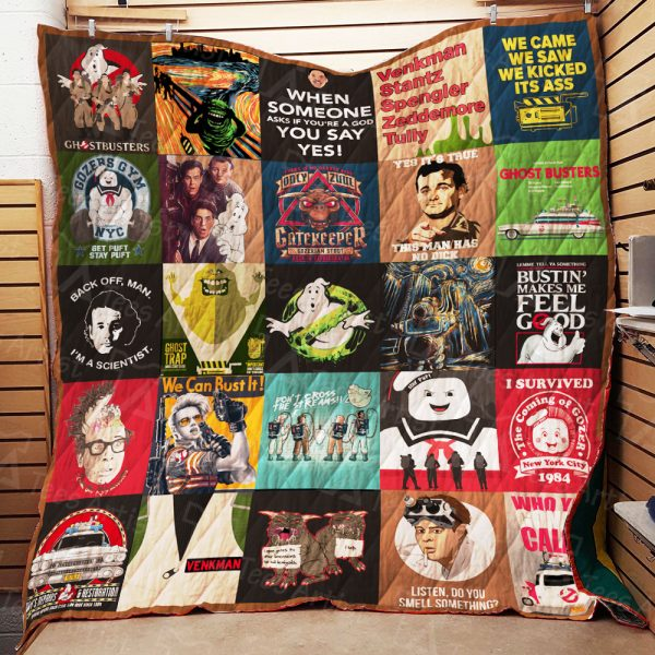 Ghostbusters Quilt Blanket 01793