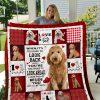 Goldendoodle Quilt Blanket I1d2