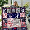 New York Yankees – To My Son – Love Dad Quilt