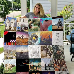 Pink Floyd Style 2 Quilt Blanket