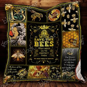 Save The Bee Beekeeper Quilt P500