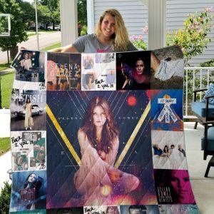 Selena Gomez Quilt Blanket