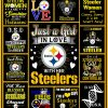 Steelers Girl Quilt Blanket 01