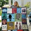 Supernatural Tv Series Quilt Blanket