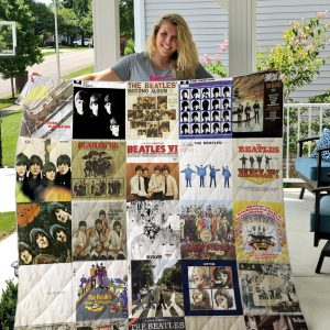 The Beatles Style 3 Quilt Blanket