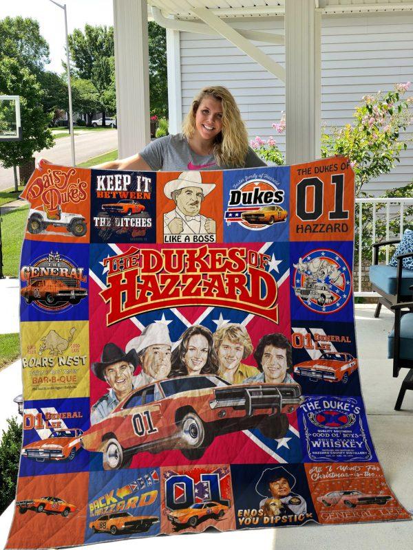 The Dukes Of Hazzard Quilt Blanket
