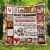 To My Grandson – Quilt