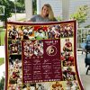Washington Redskins 88 Years Quilt Blanket I1d1