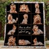 Yorkie Quilt Th160